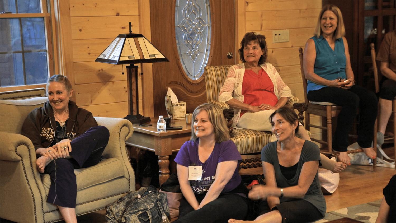 DanceLife Retreat Center Living Room Chat